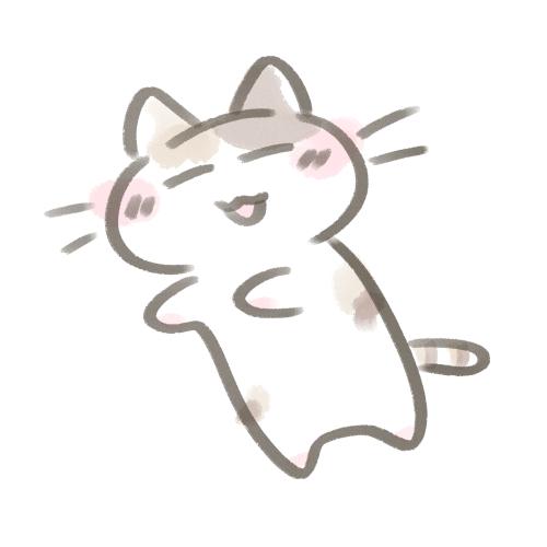 寝てる猫かわいいフリーアイコンイラスト無料素材 フリー