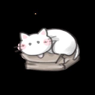 ゆるい猫のイラスト08