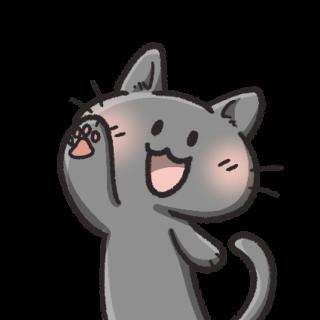 猫フリーアイコン