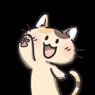 三毛猫イラスト