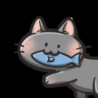 猫のフリーアイコン