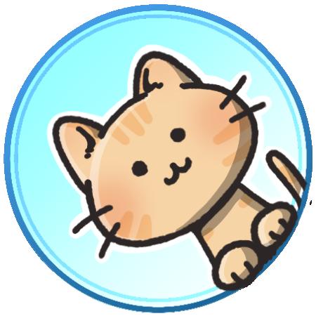 トラ猫フリーアイコン