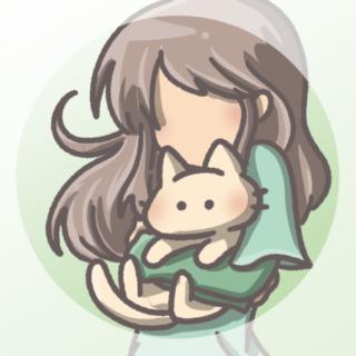 アイコン猫と女の子