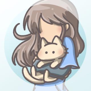 アイコン猫と女の子03