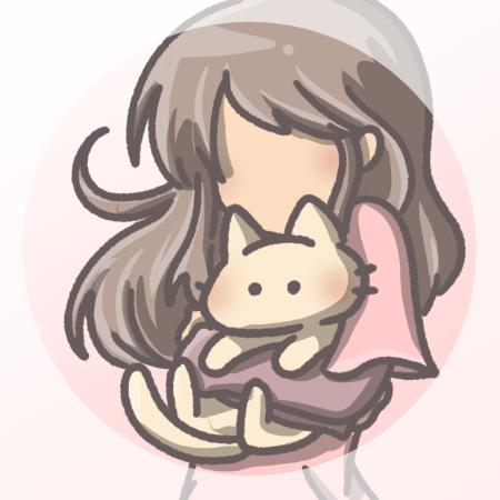 アイコン猫と女の子04