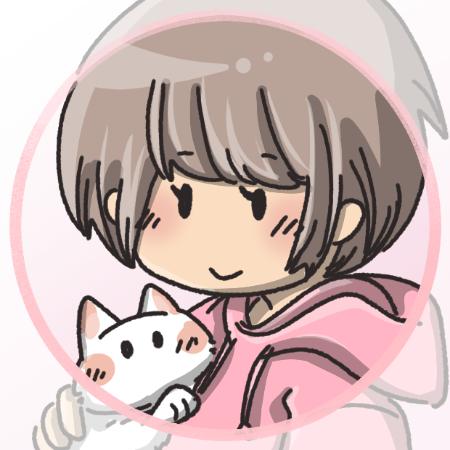 猫抱っこイラスト