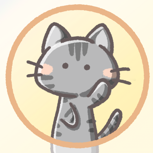 黒猫フリーアイコン
