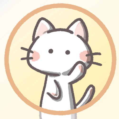 白猫フリーアイコン35