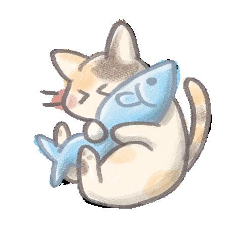 猫フリーイラスト