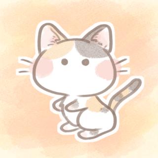 三毛猫フリーアイコン