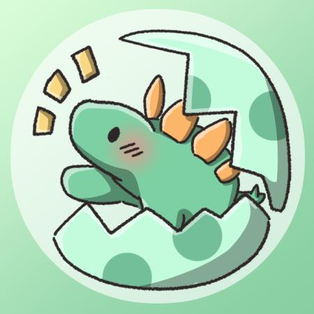 ステゴサウルスかわいい
