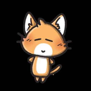 ゆるい顔の猫