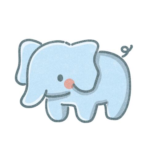 ゾウさんのアイコン