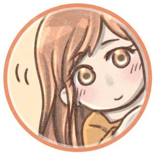 女の子のフリーアイコン