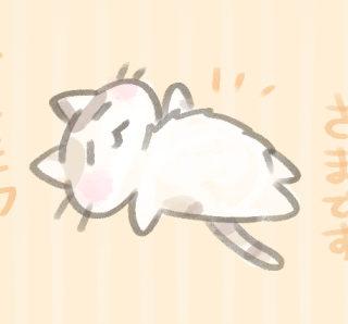 だらける猫