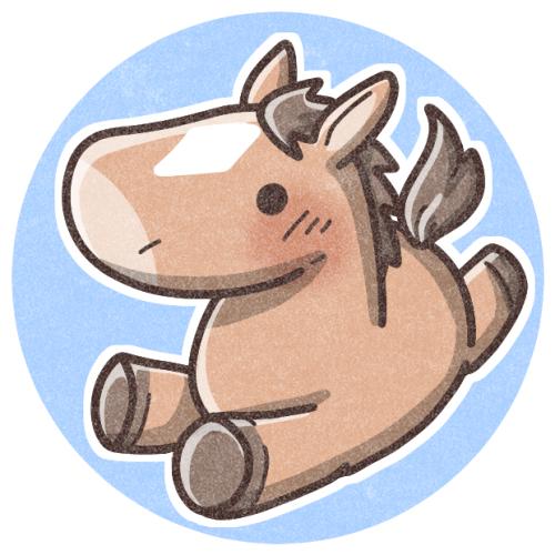 お馬のフリーアイコン 可愛いフリーアイコン イラストの無料素材サイト フリーペンシル