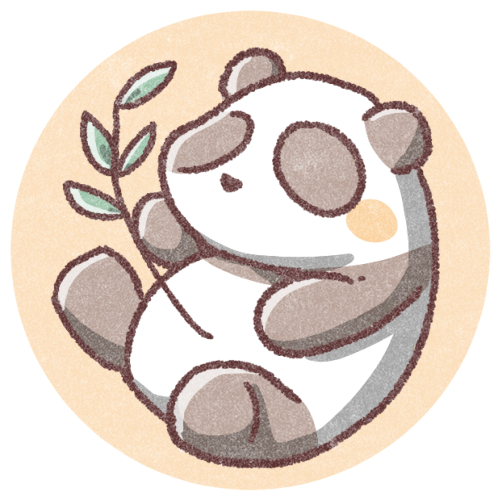 パンダのアイコン