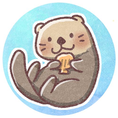 ラッコのフリーアイコン 可愛いアイコン イラストの無料素材サイト フリーペンシル