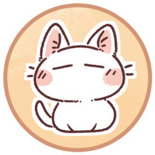 白猫のアイコン