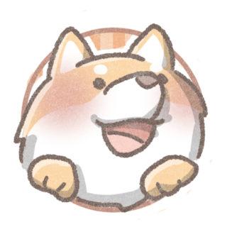 柴犬のフリーアイコン