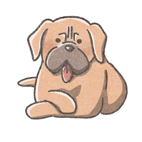 土佐犬のアイコン