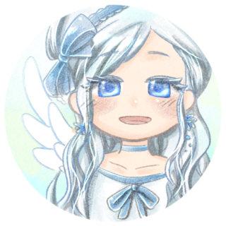 天使の女の子のアイコン