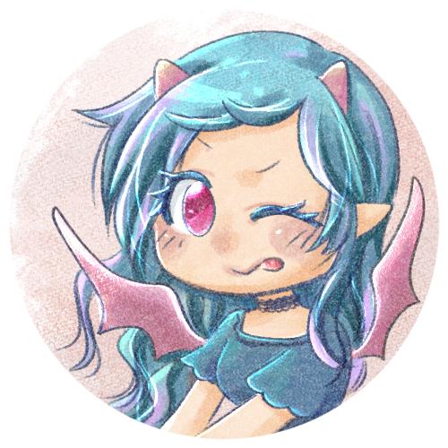 悪魔の女の子のアイコン
