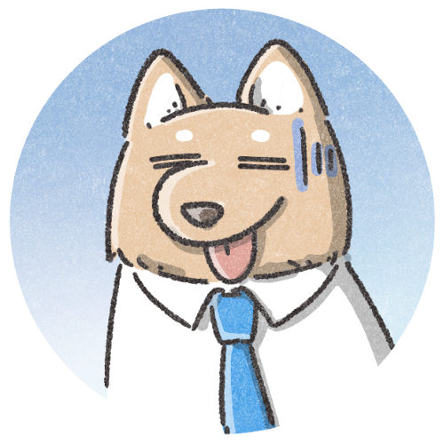 犬のサラリーマン