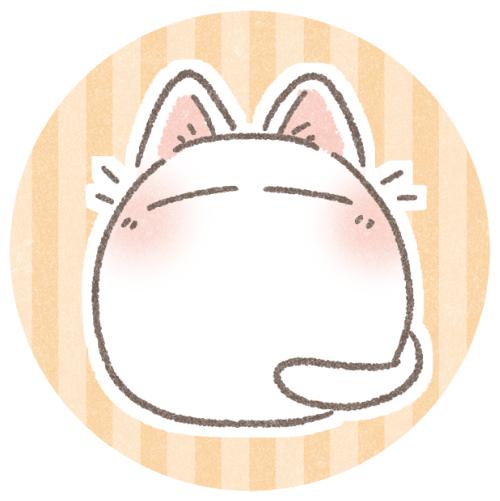 猫のまるまるアイコン
