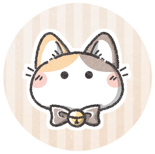 三毛猫のフリーアイコン