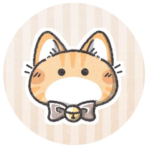 トラ猫のフリーアイコン