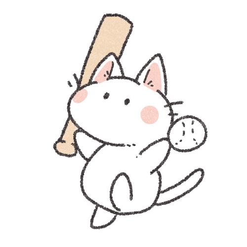 野球ねこさん