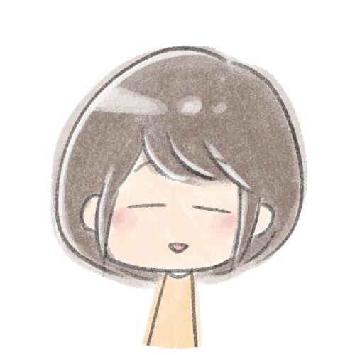 ゆるい笑顔の女の子