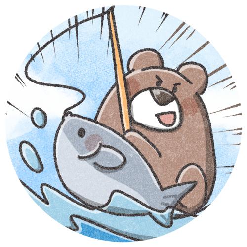 釣りくまさんゲットver