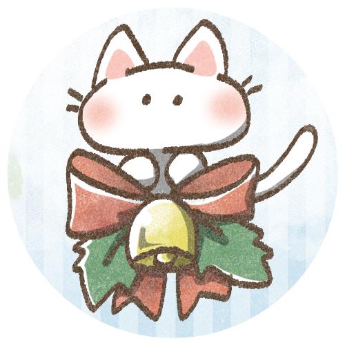 クリスマスねこさん