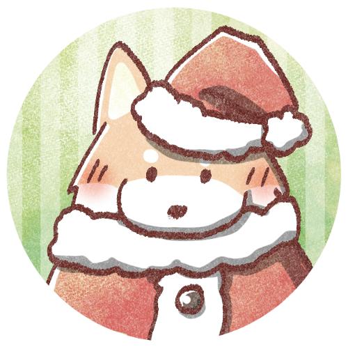 クリスマスわんちゃん