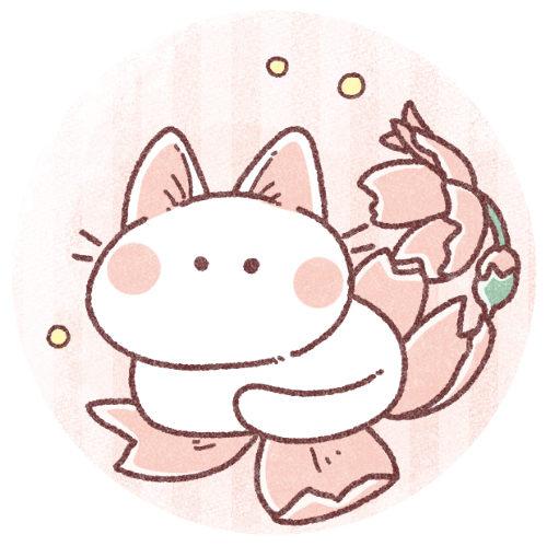 桜と猫さんのアイコン