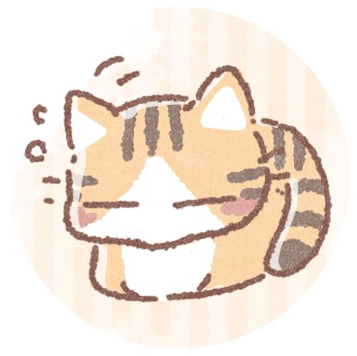 こっくりキジトラ猫さん