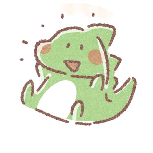 元気な恐竜さんのアイコン