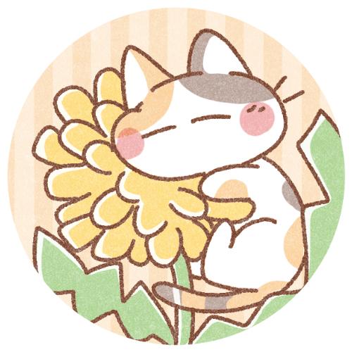 春たんぽぽと猫さん