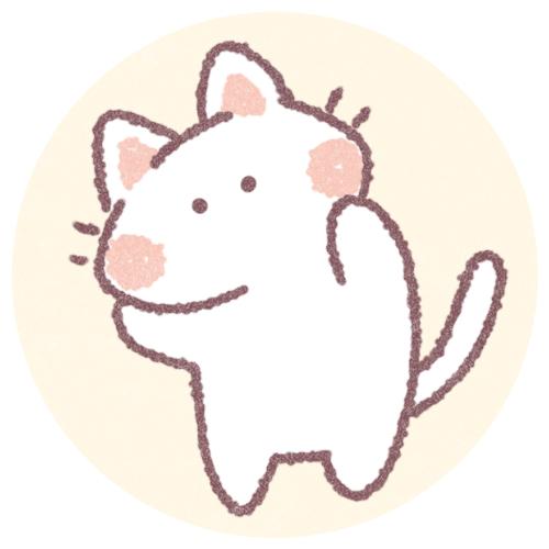 ゆるい猫のフリーアイコン