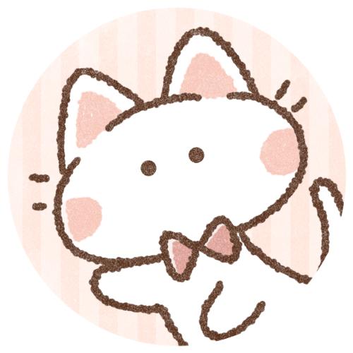 リボン白猫さん