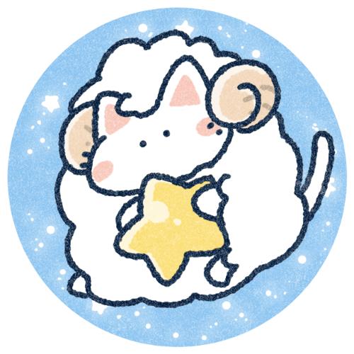 星座牡羊座のイラスト