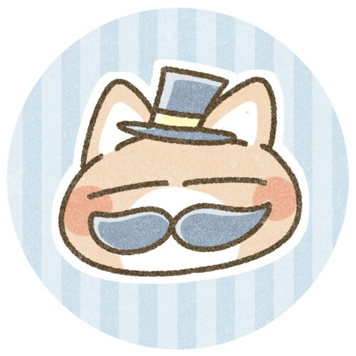 髭のついた猫さんのアイコン