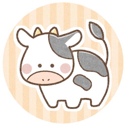 牛さんのイラスト