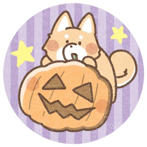 ハロウィン犬さんのイラスト