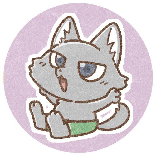 狼男のフリーアイコン